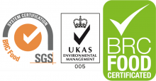 Logo Calidad BRC Food Certificated