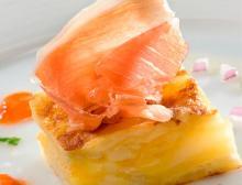 Receta de Toritlla de Patata con jamón