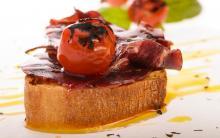 Receta con jamón serrano de Jamondor